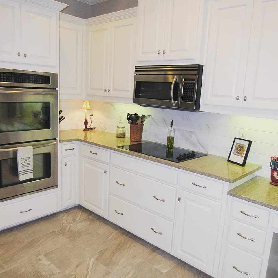 Clean Whites And Warm Greige Kitchen Remodel Muse Kitchen And Bath