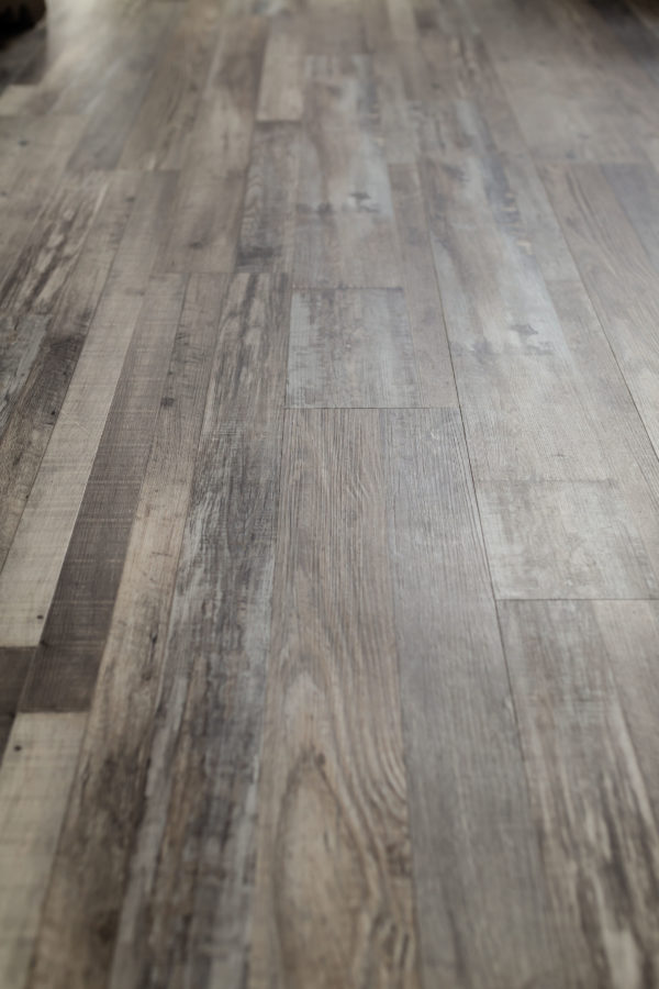 Hardwood flooring with home remodel project
