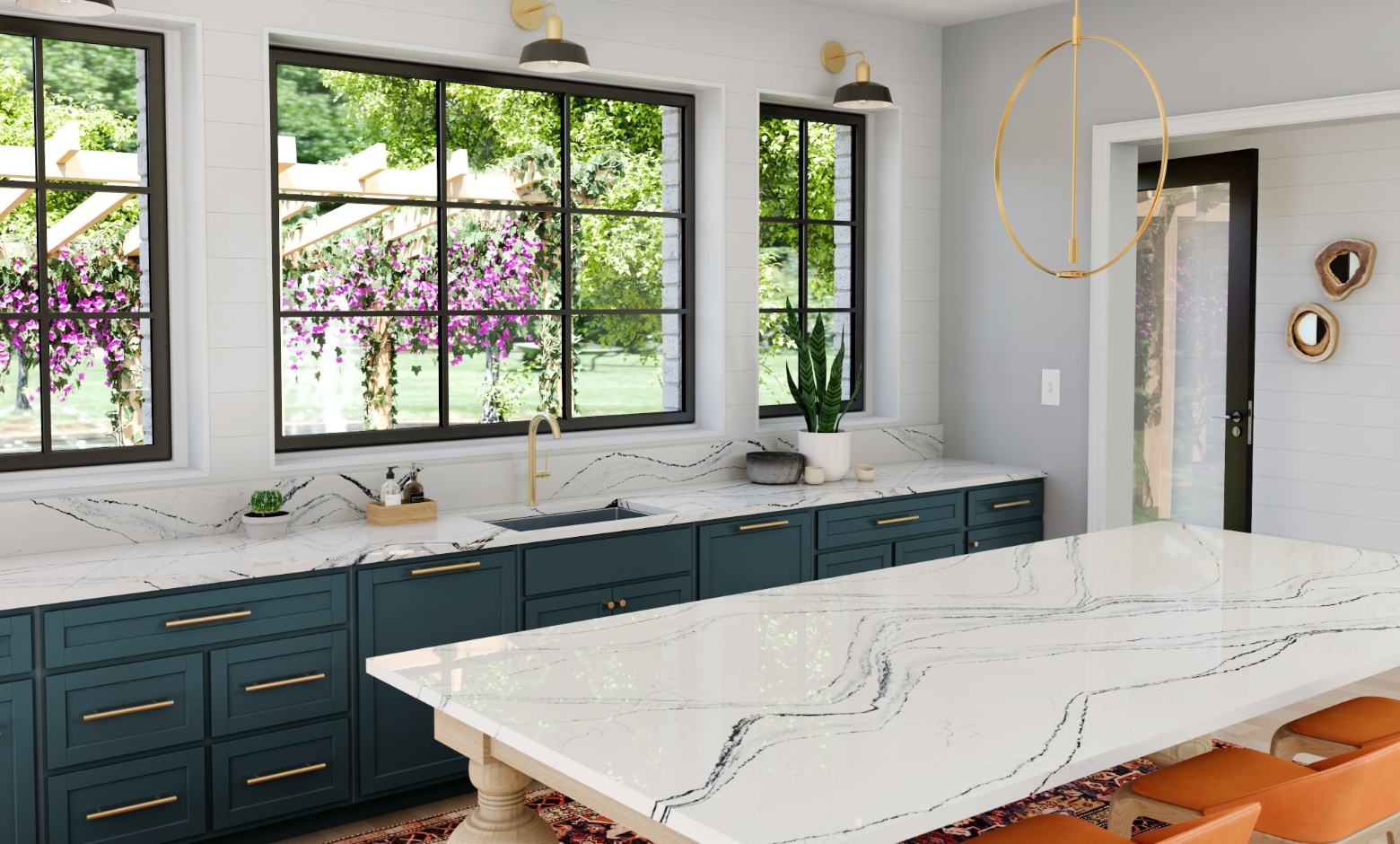 New countertops Muse Kitchen and Bath